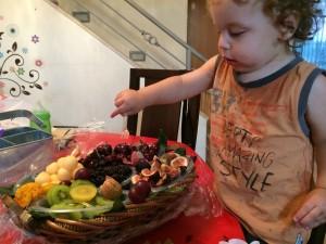 אופק וקערת הפירות ששלחו סירס ישראל